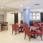 Holiday Inn Express Blowing Rock South breakfast seating