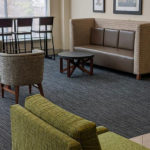 business center lounge seating