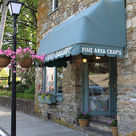 gallery on Main Street in Blowing Rock, NC